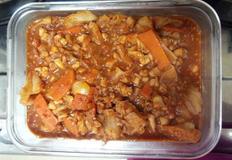 올리브오일로 만든 매콤오징어 양배추 덮밥소스