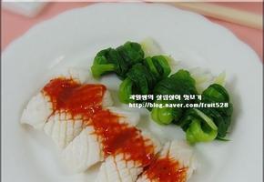오징어 잔파 강회