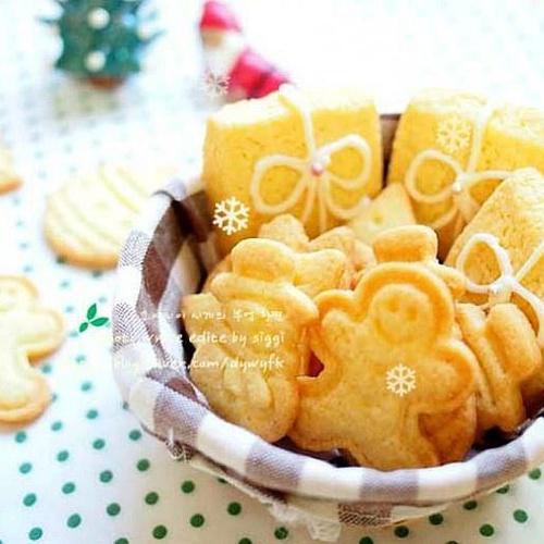 ♬크리스마스 쿠키 만들기