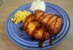 닭가슴살 치킨까스 만들기