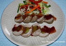 돼지안심 비트밥&고구마 말이