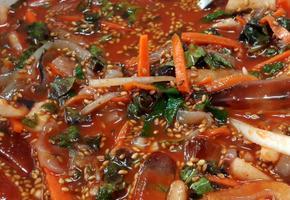 오징어물회/오징어회덮밥 집에서 만들기