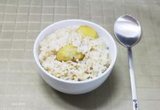 고소한 현미밥 짓기