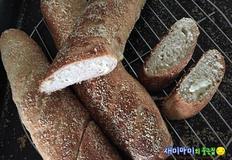 귀리치즈빵