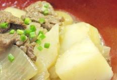감자맛이 일품이에요~ 일본식 가정요리 니꾸자가 만들기