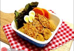 김치볶음 유부초밥만들기