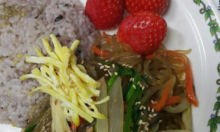 삼시세끼 에릭의 잡채덮밥