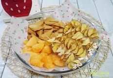 치즈칩&어묵칩&고구마칩 만들기