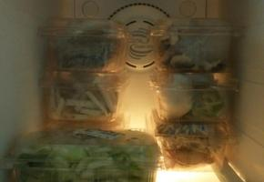 딸기는 맛있게 먹고, 딸기담은상자는 냉동실 정리