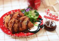 닭다리살로 만든 부드러운 치킨까스