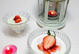 간단 디저트 만들기/ 딸기 요거트 푸딩&크림치즈 푸딩