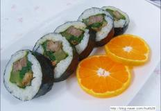 빛의 속도로 만들어낸 떡갈비 김밥