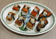 손질장어로 집에서 간편하게 만드는 장어초밥!