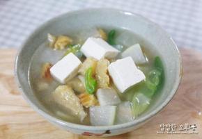 육수없이도 맛있게 북어국 끓이는법!