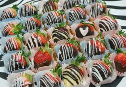 발렌타인데이선물 딸기퐁듀초콜릿 만들기