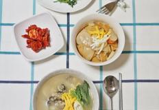 떡국끓이는법,아이들위한 떡국떡요리 <굴떡국과 굴소스떡볶이>