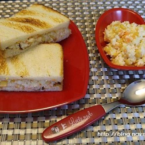 코우슬로 만들기-맛있는 양배추코우슬로~샌드위치