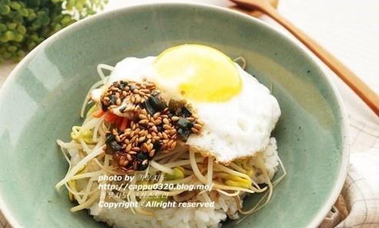 콩나물밥~한그릇