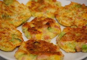 고소하고 맛있는 야채 치즈전