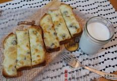 식빵 고르곤졸라피자