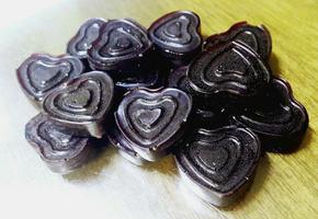 적양배추 아로니아 사탕(베이직 사탕 레시피)
