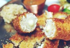 치즈가래떡돈까스 - 이색돈까스로 식탁을 즐겁게.[백종원돈까스,돈까스소스만들기]
