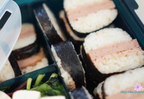 신랑도시락♥ 스팸네모김밥, 햄참치마요김밥 만들기