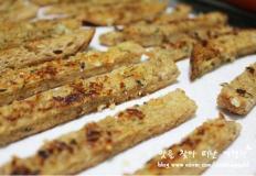 식빵테두리를 이용한 달콤 고소한 마늘빵