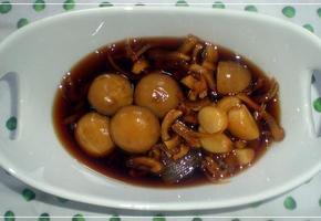 표고버섯 밑둥 장조림