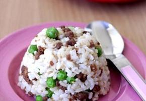 쇠고기완두콩주먹밥 만들기