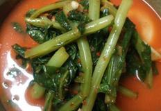 열무물김치(열무2단) / 시댁음식, 여름김치는 찹쌀풀대신 밀가루풀이 비법?