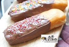 오동통통 귀여운 빼빼로도넛만들기/ 홈메이드 도넛만들기,찹쌀도너츠,11월11일, 빼빼로데이기념 레시피