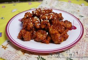 ◈ 매콤달콤 닭강정