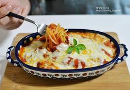 맛있는 주말요리 토마토소스 치즈파스타