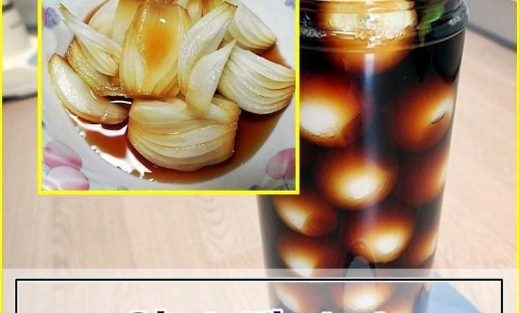 양파장아찌만들기 황금비율과 양파효능및보관법