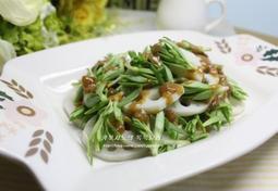 아삭아삭 휘리릭 초간단 샐러드~~돌나물 연근 샐러드