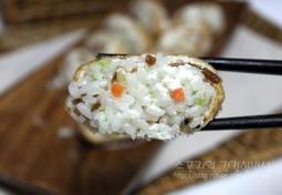 치즈우엉유부초밥만들기