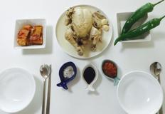 누룽지 닭백숙 끓이기