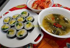 유명 김밥 따라하기 3가지 재료로 만드는 무교동식 김밥