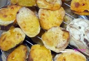 광파오븐으로 꿀군고구마만들기#고구마다이어트_이거면 군것질 절대안함.