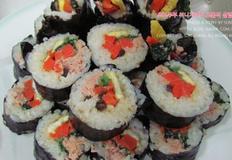 초간단 재료로 김밥 만들기