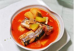 꽁치고추장찌개:: 꽁치통조림 요리 간단 고추장 찌개 레시피