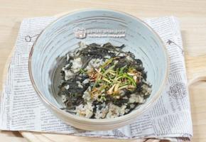 곤드레 나물밥 만드는 법