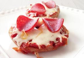 간단 레시피 #베이글 피자 만들기