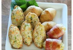 계란 유부 베이컨 초밥