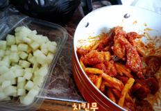 [해외자취Cook.feel通]309. 치킨무 레시피 (치킨무만들기/치킨무만드는법/치킨단짝)