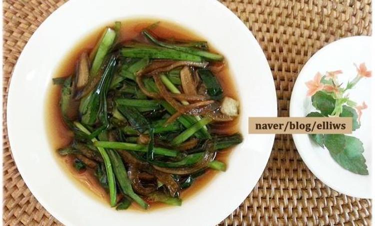 부추&양파 초절임...고기먹을 때 쌈 대신 같이 먹어요~~*