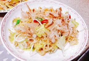 해물 볶음우동 일본식 해물 야끼소바 만들기