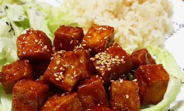 [밥반찬, 술안주] 담백한 두부로 만든 매콤달콤 두부강정 :: 닭강정 대신 두부강정