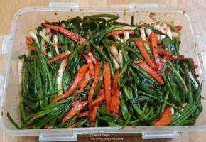 라면과 삼겹살 짝꿍 간단하고 맛있는 파김치 황금레시피